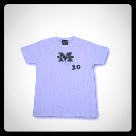 51cf1e15c59a54 Tom Brady Michigan Wolverines GOAT Jersey Shirt